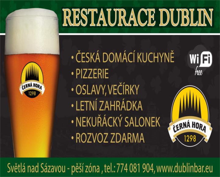 Dublin bar Světlá nad Sázavou
